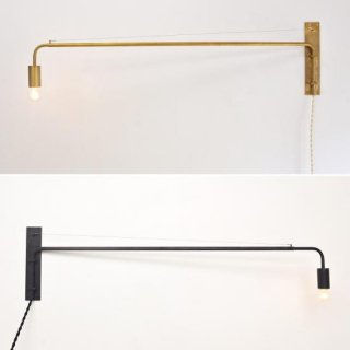 Arm Wall Lamp(Gold・Black)