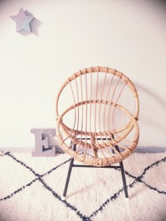 Rotin Chair A  From France
