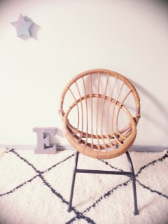 Rotin Chair B  From France