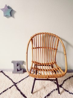 Rotin Chair E From France