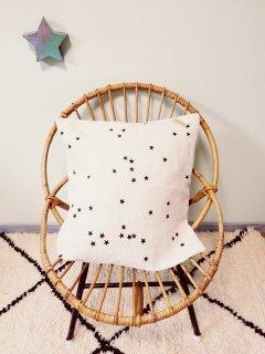 Bord de scene Black star cushion cover