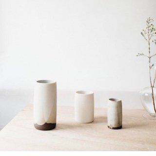 Notary Ceramics  Cylinder Vase