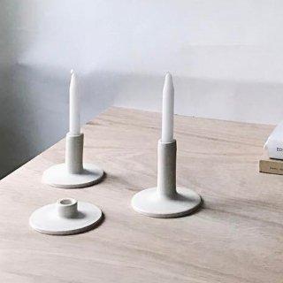 Notary Ceramics  saucer candlestick