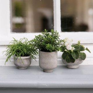 RADER mni  flower  pots