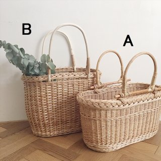 Straw bag (A)(B) From Latvia