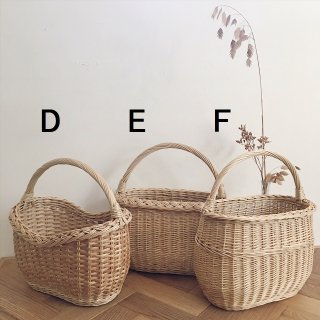 Straw bag (D)(E)(F) From Latvia