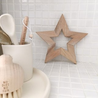 Star trivet  white 【sen_to_sence special edition】