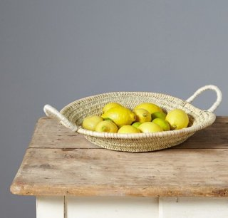 round plat  panier from france