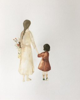 <img class='new_mark_img1' src='//img.shop-pro.jp/img/new/icons14.gif' style='border:none;display:inline;margin:0px;padding:0px;width:auto;' />saar manche   mother and daughter  (2018 limited edition)