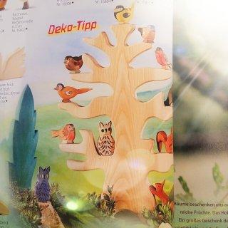 Bird's roosting tree