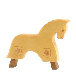 Horse yellow
