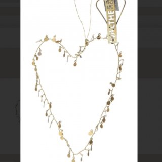 <img class='new_mark_img1' src='//img.shop-pro.jp/img/new/icons14.gif' style='border:none;display:inline;margin:0px;padding:0px;width:auto;' />Walther&Co sequins heart big gold