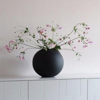Cooee Design  Ball Vase 20cm black