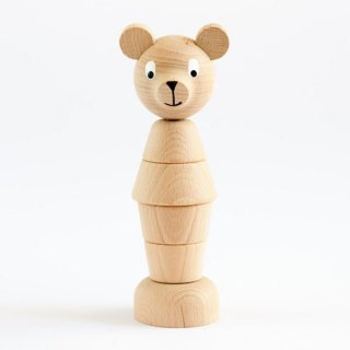 <img class='new_mark_img1' src='https://img.shop-pro.jp/img/new/icons14.gif' style='border:none;display:inline;margin:0px;padding:0px;width:auto;' />Sarah and Bendrix - Wooden barbaby bear (natutral)