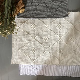 mikanu cotton mini  rug