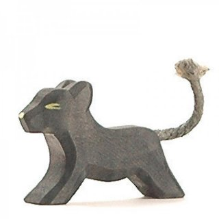 入荷!Black panther cub running