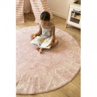 Round ABC Vintage Nude - Natural Rug ご予約分 (6月〜9月入荷予定