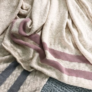 <img class='new_mark_img1' src='//img.shop-pro.jp/img/new/icons14.gif' style='border:none;display:inline;margin:0px;padding:0px;width:auto;' /> 入荷!!Lorena Canals Blanket  Stripes Natural