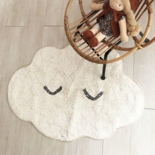 <img class='new_mark_img1' src='https://img.shop-pro.jp/img/new/icons14.gif' style='border:none;display:inline;margin:0px;padding:0px;width:auto;' />Bloomingville cotton happy cloud rug