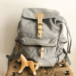入荷!sebra  Kids backpack  Grey  From Denmark