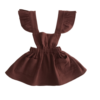 <img class='new_mark_img1' src='https://img.shop-pro.jp/img/new/icons14.gif' style='border:none;display:inline;margin:0px;padding:0px;width:auto;' />liilu CLARA PINFORE (chestnut)