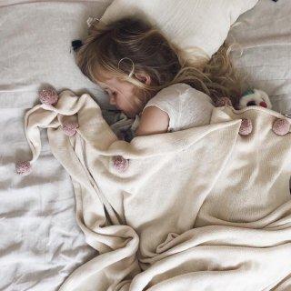 入荷!!Lorena Canals Blanket Bubbly Natural - Nude