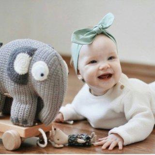 【入荷!】sebra  doll  elephant Gy  From Denmark