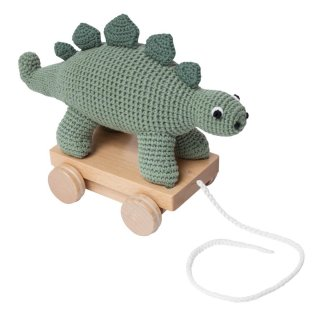 入荷!sebra  doll Pull toy dinosaur   From Denmark
