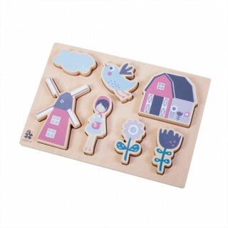 【ご予約終了】sebra Baby Puzzle Farm   From Denmark