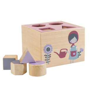 【ご予約終了】sebra Shape Sorter Farm  From Denmark