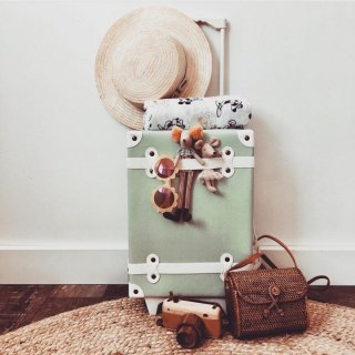 <img class='new_mark_img1' src='https://img.shop-pro.jp/img/new/icons14.gif' style='border:none;display:inline;margin:0px;padding:0px;width:auto;' />Olliella  See-ya Suitcase(mint) 送料無料