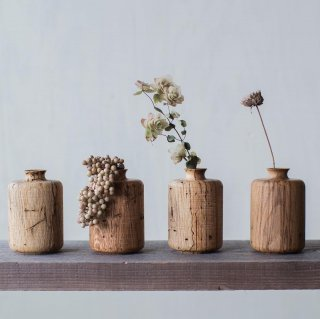 入荷!Solid wood   Vase