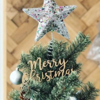 <img class='new_mark_img1' src='https://img.shop-pro.jp/img/new/icons14.gif' style='border:none;display:inline;margin:0px;padding:0px;width:auto;' />& MERCI Cake Topper (merry chrismas)