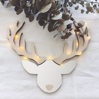 <img class='new_mark_img1' src='//img.shop-pro.jp/img/new/icons14.gif' style='border:none;display:inline;margin:0px;padding:0px;width:auto;' />UNICORN&UNICORN Christmas deer mirror