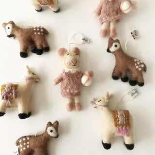 <img class='new_mark_img1' src='//img.shop-pro.jp/img/new/icons14.gif' style='border:none;display:inline;margin:0px;padding:0px;width:auto;' />Shirley Bredal NOEL  knitted animal ornaments