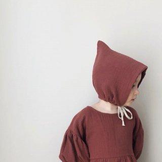 liilu pixie bonnet chestnut