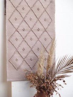 mikanu cotton mini  rug (4 dot) MOCA sentosence限定color