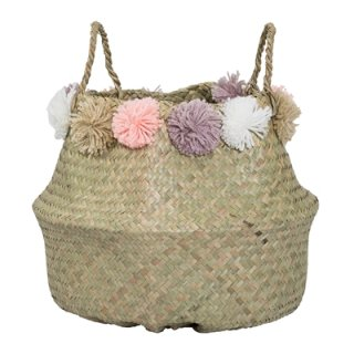 <img class='new_mark_img1' src='//img.shop-pro.jp/img/new/icons14.gif' style='border:none;display:inline;margin:0px;padding:0px;width:auto;' />Blooming ville pompom basket