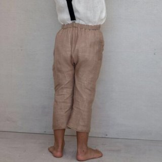 <img class='new_mark_img1' src='//img.shop-pro.jp/img/new/icons14.gif' style='border:none;display:inline;margin:0px;padding:0px;width:auto;' />HOUSE OF PALOMA etienne pants  (nutmeg)