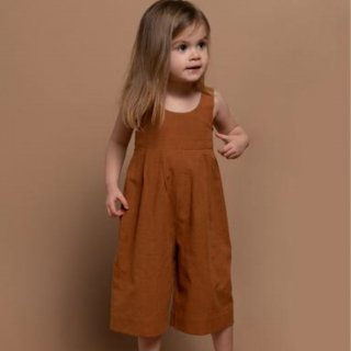 <img class='new_mark_img1' src='https://img.shop-pro.jp/img/new/icons14.gif' style='border:none;display:inline;margin:0px;padding:0px;width:auto;' />Minimom  IRIS JUMPSUIT (sleeveless) cinamon