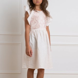 <img class='new_mark_img1' src='https://img.shop-pro.jp/img/new/icons14.gif' style='border:none;display:inline;margin:0px;padding:0px;width:auto;' />petitAmalie BUST EMBROIDARY DRESS (pale pink)