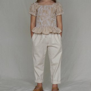 <img class='new_mark_img1' src='//img.shop-pro.jp/img/new/icons14.gif' style='border:none;display:inline;margin:0px;padding:0px;width:auto;' />HOUSE OF PALOMA YVES pants  (natural Ecru)