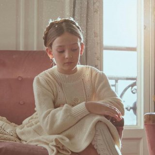 <img class='new_mark_img1' src='//img.shop-pro.jp/img/new/icons14.gif' style='border:none;display:inline;margin:0px;padding:0px;width:auto;' />Fish &kids  VICTORIAN KNITTED DRESS (ecru)