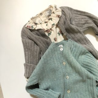 <img class='new_mark_img1' src='https://img.shop-pro.jp/img/new/icons14.gif' style='border:none;display:inline;margin:0px;padding:0px;width:auto;' />tocotovintage Ribbed knitted cardigan