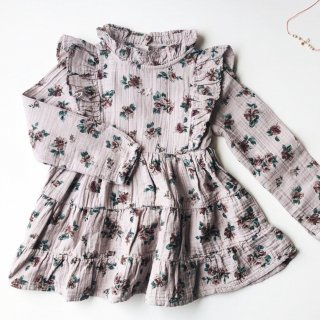 <img class='new_mark_img1' src='https://img.shop-pro.jp/img/new/icons14.gif' style='border:none;display:inline;margin:0px;padding:0px;width:auto;' />tocotovintage  KIDS Flower print  dress (2色)