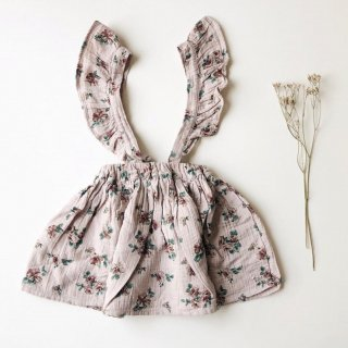<img class='new_mark_img1' src='https://img.shop-pro.jp/img/new/icons14.gif' style='border:none;display:inline;margin:0px;padding:0px;width:auto;' />tocotovintage  KIDS Flower print skirt(pale pink)