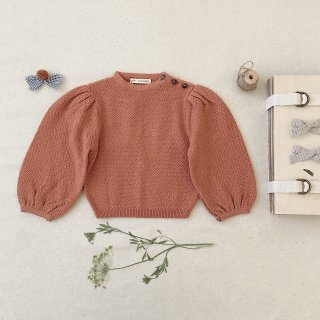 <img class='new_mark_img1' src='https://img.shop-pro.jp/img/new/icons14.gif' style='border:none;display:inline;margin:0px;padding:0px;width:auto;' />SOORPLOOM  Agnes sweater (peony)
