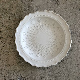 <img class='new_mark_img1' src='https://img.shop-pro.jp/img/new/icons14.gif' style='border:none;display:inline;margin:0px;padding:0px;width:auto;' />入荷!French lace plate(S)