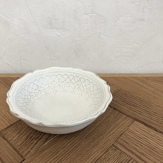 <img class='new_mark_img1' src='https://img.shop-pro.jp/img/new/icons14.gif' style='border:none;display:inline;margin:0px;padding:0px;width:auto;' />入荷!French lace Frill bowl
