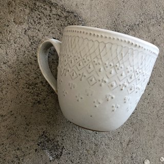 <img class='new_mark_img1' src='https://img.shop-pro.jp/img/new/icons14.gif' style='border:none;display:inline;margin:0px;padding:0px;width:auto;' />入荷!French lace Mug Cup
